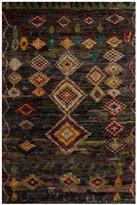 Safavieh Tangier Collection Wool & Hemp Rug - Black - 8' x 10'