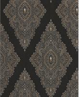 Graham & Brown Wallpaper Sample - Jewel Black