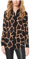 Michael Kors Giraffe-Print Shirt
