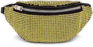 Alexander Wang Attica Soft Mini Fanny Crossbody Bag in Lemon | FWRD