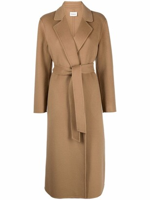 P.A.R.O.S.H. Belted Wool Coat