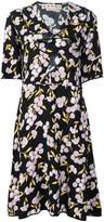Marni ruffled floral print dress