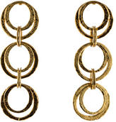 Oscar de la Renta Interlocking Circles Earrings