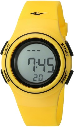 Everlast 'Heart Rate Monitor' Automatic Plastic and Rubber Fitness Watch