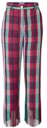 Kenneth Ize Okatu fringed trousers