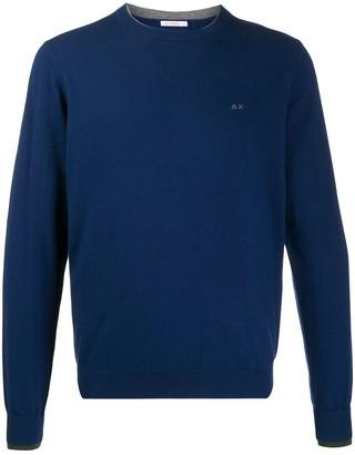 Sun 68 double rib-knit sweatshirt