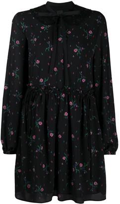 Pinko Floral Sash Neck Dress