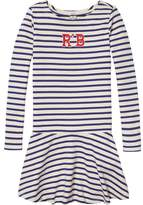 Scotch & Soda Striped AppliquE Jersey Dress