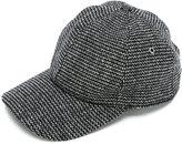 Ami Alexandre Mattiussi woven baseball cap - men - Other fibres/Virgin Wool/Polyimide - One Size