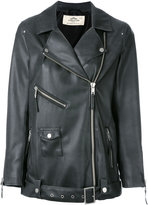 Urban Code Urbancode - leather-effect jacket - women - Polyester/Polyurethane - 10