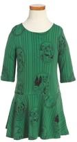 Mini Rodini Toddler Girl's Fox Family Drop Waist Dress