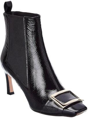 Roger Vivier Trompette Patent Chelsea Boot