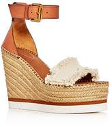 See by Chloe Glyn Ankle Strap Espadrille Wedge Sandals