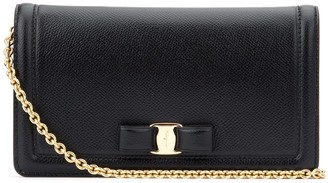 Salvatore Ferragamo Vara Bow Clutch Bag