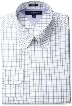 Tommy Hilfiger Men's Tattersol Dress Shirt