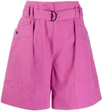 Etoile Isabel Marant Zayna high-waisted shorts