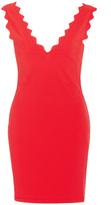 Marysia Swim Amagansett Scallop Edge Mini Dress