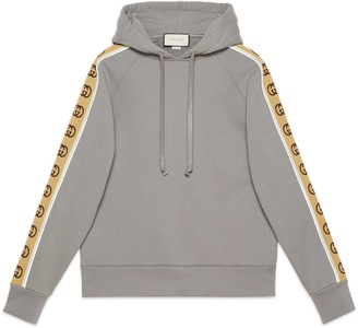 Gucci Cotton jersey hooded sweatshirt