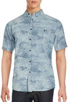 Ezekiel Panama Printed Short Sleeve Button-Down Shirt