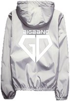 EkarLam® Men's Reflective Luminous G-Dragon Outfit Youths BOYS Shell Jacket