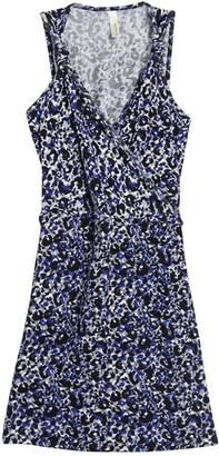 Loveappella Leopard Printed Knot Shoulder Strap Dress