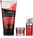 Olay Regenerist Cream Cleanser 5oz with Regenerist Micro Sculpting Eye Swirl Eye Cream 0.5oz & Regenerist Micro Sculpting Cream Moisturizer 0.5oz Trio Pack, 1 Kit