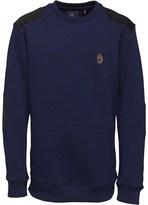 Luke 1977 Junior Luke Boys Dennis Sweatshirt Lux Navy