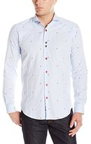 Bogosse Men's Owen 85 Long Sleeve Button Down Shirt