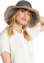 San Diego Hat Company Packable Stripe Floppy Hat