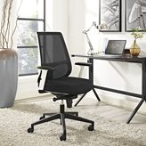 Modway Pump White Frame Office Chair