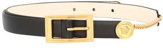Versace Calf leather belt