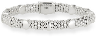 Lagos Child's 6mm Kinder Sterling Silver Bracelet