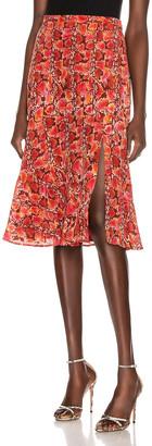 Altuzarra Clementine Skirt in Mulberry | FWRD