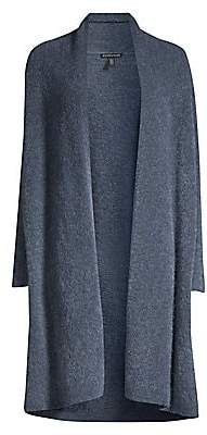Eileen Fisher Women's Mohair Wool-Blend Duster
