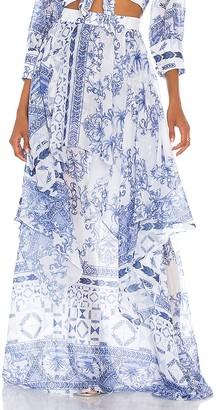 PatBO Amalfi Maxi Skirt