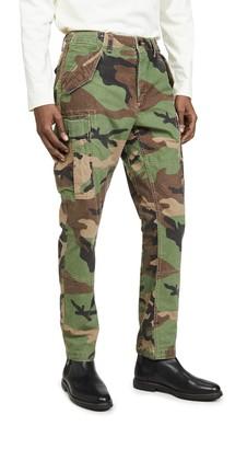 Polo Ralph Lauren Slub Cotton Canvas Cargo Pants