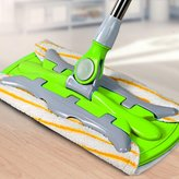 GAOJIAN High Quality Flat Telescopic Mop 360 Degree Rotation Microfiber Cloth For Home Wood Floor Kitchen Living Room Cleaning Tools , b