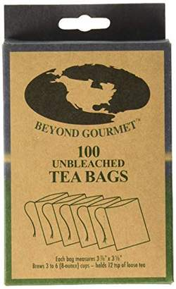 Beyond Gourmet 22023 Disposable Tea Bags Brews 3-6 Cups