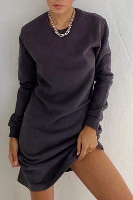 Thakoon Open Back Sweatshirt Dress
