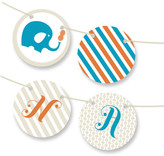 Minted Peanut and the Elephant Personalizable Bunting Banner