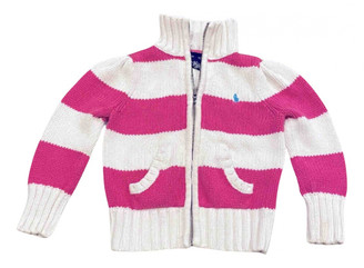 Ralph Lauren Pink Cotton Knitwear