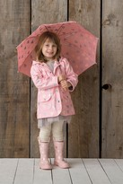 Hatley Metallic Hearts Printed Raincoat (Toddler, Little Girls, & Big Girls)