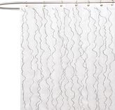 Bed Bath & Beyond Romana Fabric Shower Curtain in White