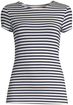 L'Agence Ressi Striped Crew Neck T-Shirt