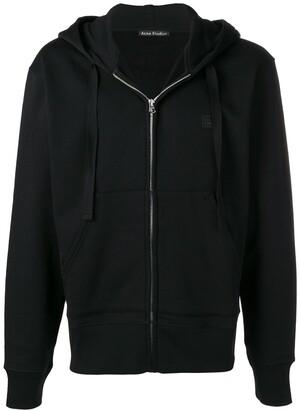 Acne Studios Ferris Zip Face hooded sweatshirt