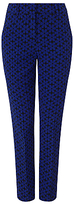 Phase Eight Alice Daisy Trousers, Royal Blue/Black
