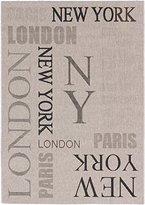 """Ecarpetgallery 183743 Cosmopolitan Casual Rug, 5'3"""" x 7'7"""", Light Gray"""
