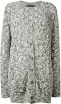 Roberto Collina open-knit cardigan - women - Cotton/Linen/Flax/Viscose/Polyimide - M