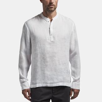James Perse Linen Pullover Shirt