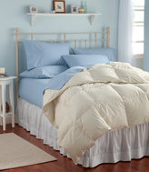 L.L. Bean Box-Stitch Goose Down Comforter, Warmer